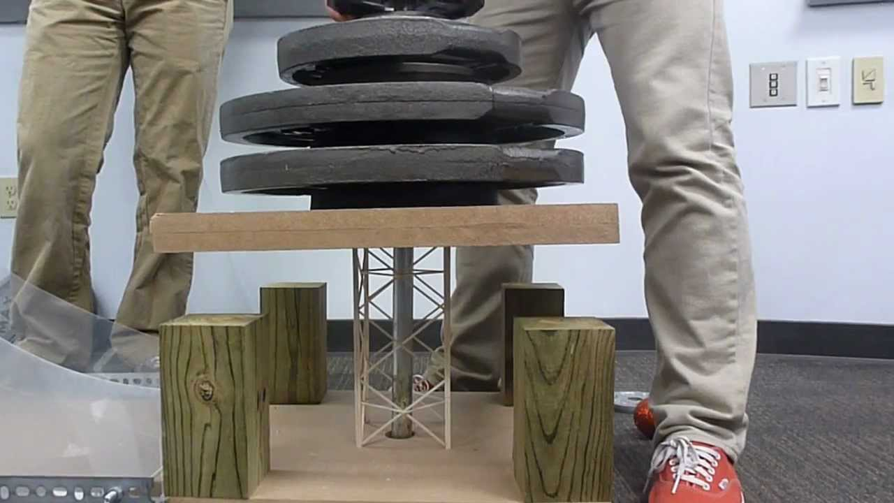balsa wood structures
