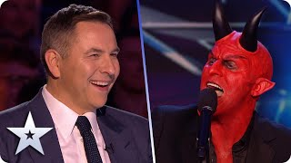 A HELL of a performance! DEVILISHLY talented Dev wants to break free! | BGT 2020