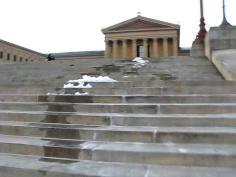 Las escaleras de Rocky en Philly