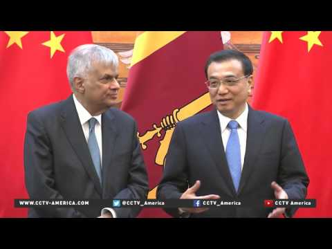 Boosting ties: Sri Lankan prime minister visits China