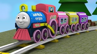 Thomas and Friends - Toy Train for Children - Train Cartoon - Toy Factory - jcb Cartoon - Trains Toy