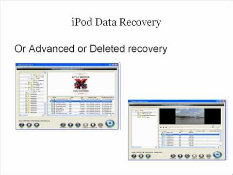 How iPod data recovery software works?