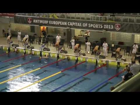273 Championnat de Belgique Open Anvers Men, 100m Freestyle Heat 7 of 8