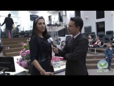 Lydia Moisés - Entrevista na AD Içara - WebTV Semear - fev 2015
