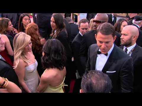 Golden Globes 2015: Limo Arrivals 1