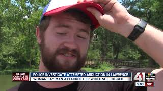 Woman reports attempted abduction on Lawrence trail