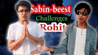 Sabin karki-Beest Challenges Rohit😎 Maharjan(Official Ryap Video) RisingstarNepal