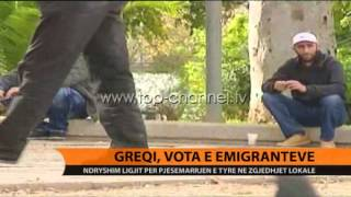 Greqi, vota e emigrantëve - Top Channel Albania - News - Lajme