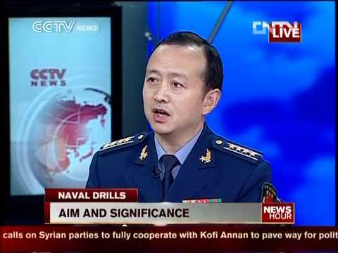 Studio interview: Aim of China-Russia joint navy drill.mp4