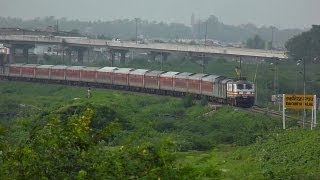 TVC Rajdhani Thunders at 130KMPH !!
