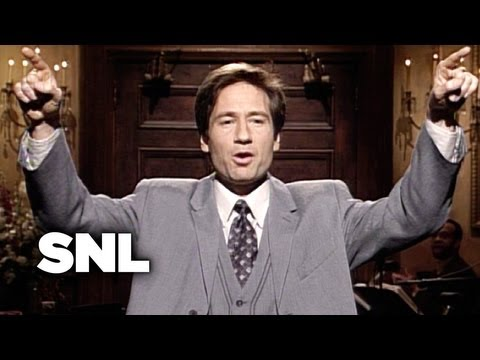 David Duchovny Monologue - Saturday Night Live