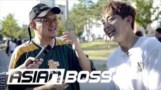 Can Koreans Speak In Pure Korean? (No English Words Challenge)   ASIAN BOSS