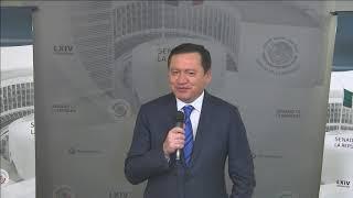 Conferencia del senador Miguel Ángel Osorio Chong, del 16 de julio de 2019