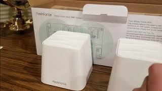 (Episode 2320) Amazon Prime Unboxing: MeshForce Whole Home Mesh WiFi System @amazon