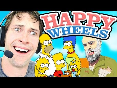 Happy Wheels - THE SIMPSONS