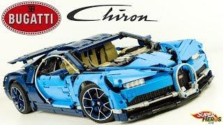 Un Monstre! BUGATTI CHIRON Lego Technic 42083 Construction Speed Build Partie 3 Jouets Toy Review