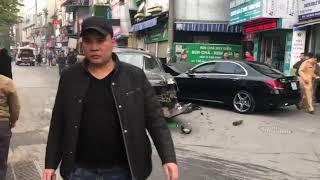 Video hiện trường vụ tai nạn tại Ngọc khánh - Ba Đình.