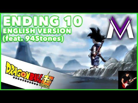 Dragon Ball Super Ending 10 [ENGLISH VERSION] | A 70cm Square Window | MasakoX (feat. 94Stones)