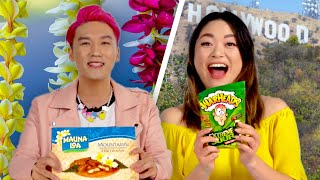 Hawaiians & Californians Swap Snacks