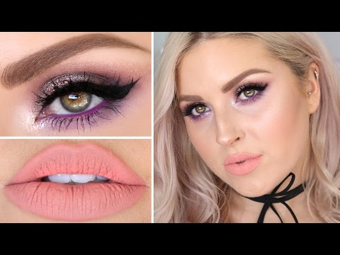 Get Ready With Me ♡ Playing With Purple & Peach!