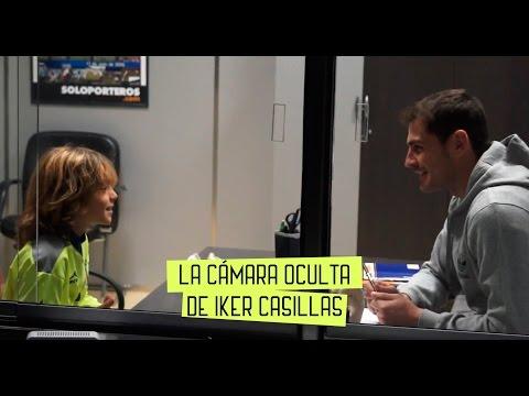 BROMA: Iker Casillas graba una cámara oculta con niños