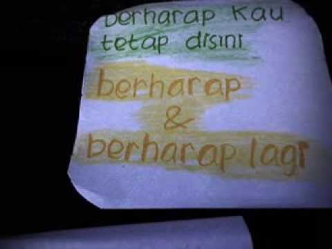 Ipang-ada Yang Hilang With Lyrics (stop Motion) video