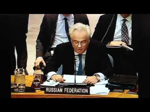 Russia Exposes NATO Crimes In Libya At UN Security Council While NATO States Objection