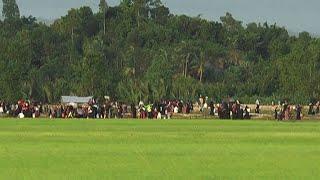 Rohingya flee Myanmar for Bangladesh after fresh violence