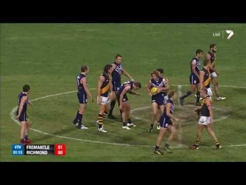 Fremantle v Richmond: Final two minutes - AFL