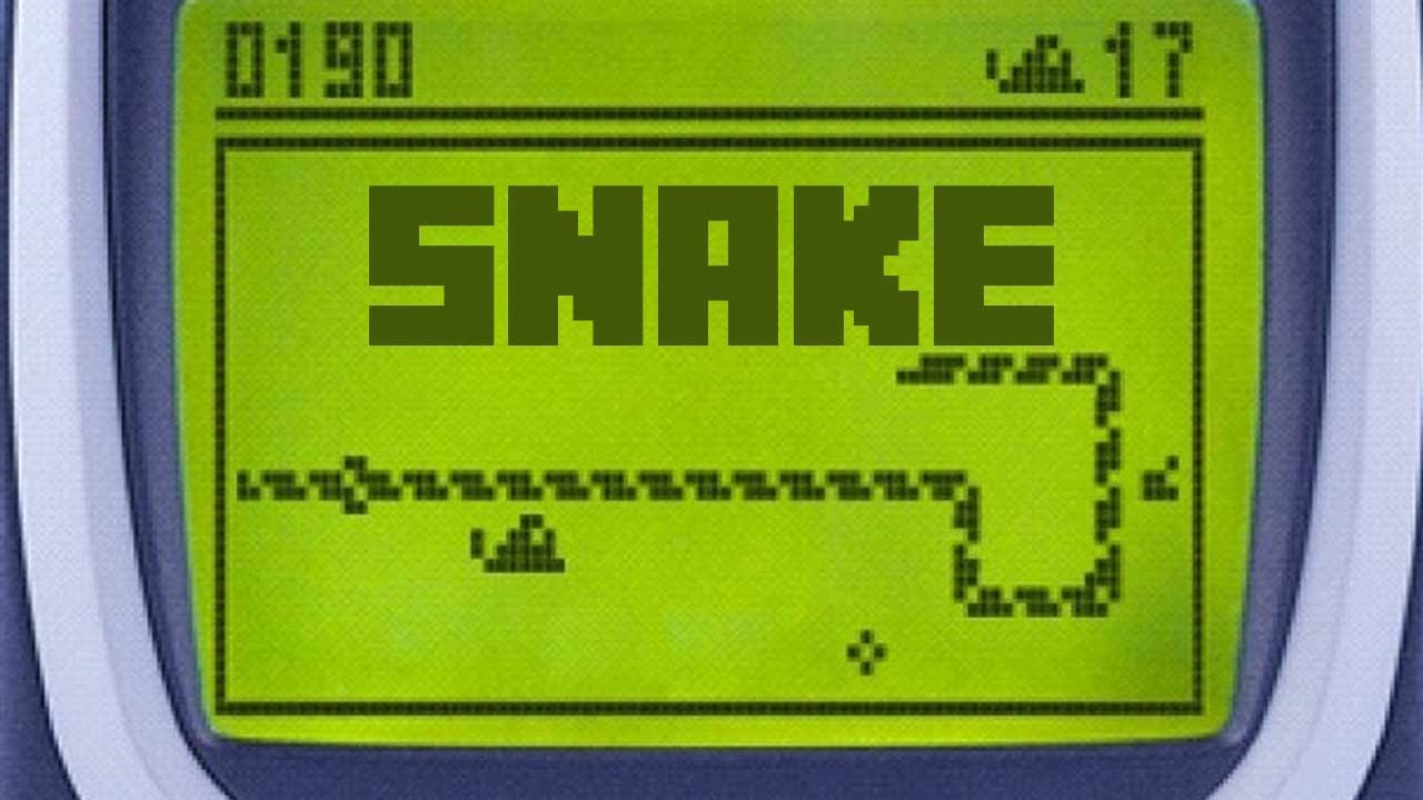 Snake Nokia we built out on the Snake
