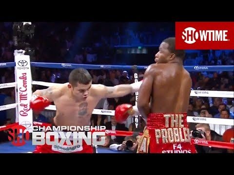Adrien Broner Knocked Down By Marcos Maidana  SHOWTIME Boxing