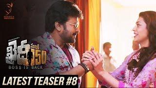 Khaidi No 150 Latest Teaser #8 || Mega Star Chiranjeevi || V V Vinayak || DSP