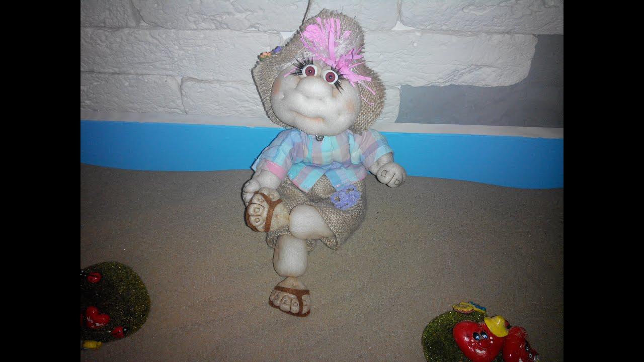 Куклы с капрона своими руками 1