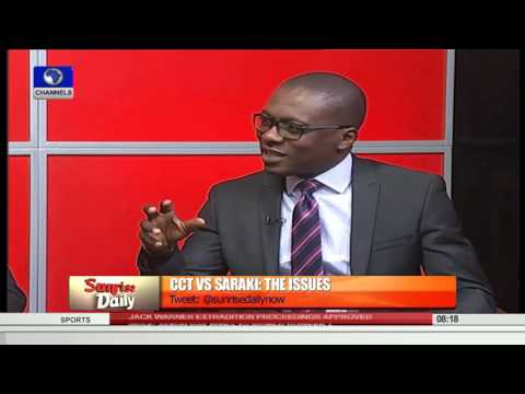 Sunrise Daily Democracy Is About Following The Rule Of Law - Omatseye  Pt 1 22/09/15