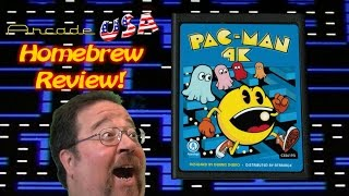 Atari 2600 Pac Man 4K Gameplay!