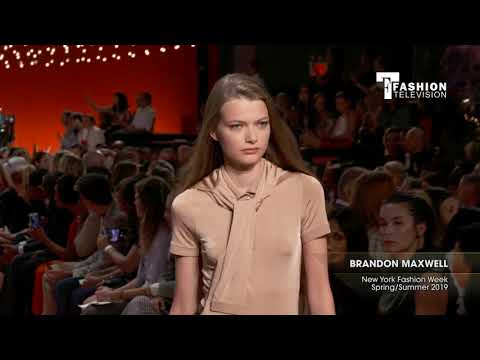 BRANDON MAXWELL New York Fashion Week Spring/Summer 2019
