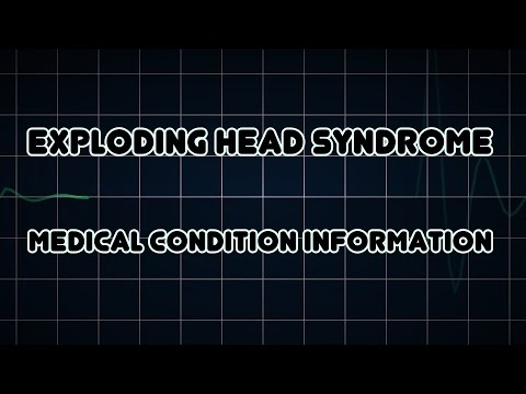 Exploding head syndrome (Medical Condition)