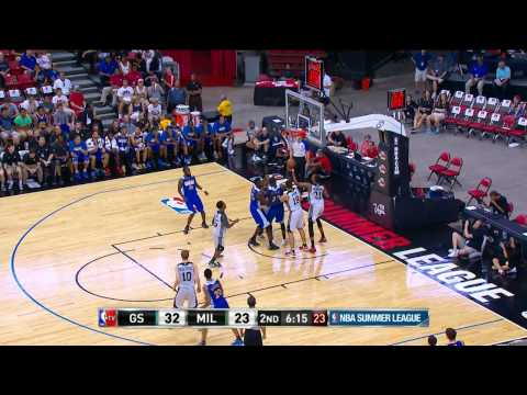 Golden State Warriors vs Milwaukee Bucks Summer League Recap