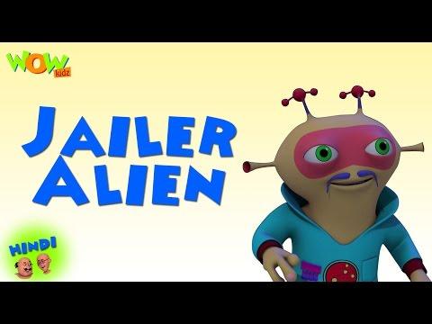 Jailer Alien - Motu Patlu in Hindi - ENGLISH, SPANISH & FRENCH SUBTITLES! - 3D Animation Cartoon thumbnail