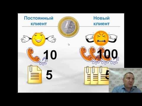 Первая проблема отдела продаж. Сергей Ретивых - тренинг активные продажи по телефону