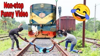 Must Watch New Funny😂 😂Comedy Videos 2019 - Episode 49 | Non-stop Funny Video || Hiphop BDT ||