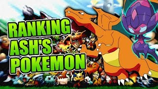 Ranking All of Ash Ketchum's Pokemon!