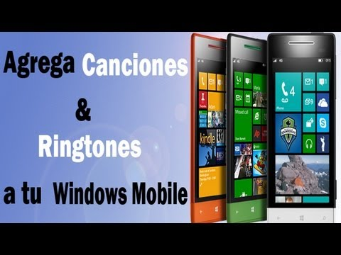 Windows Phone - Como agregar ringtone, música, podcast - Tutorial