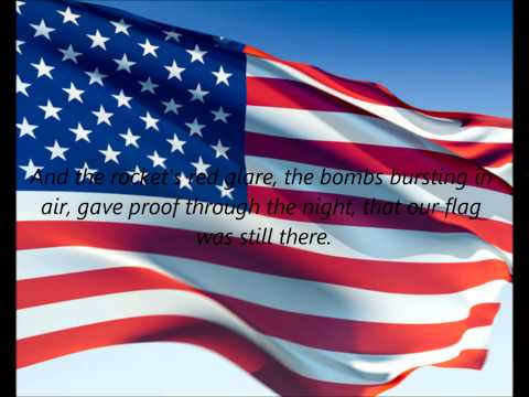 American National Anthem - the Star Spangled Banner (en) video