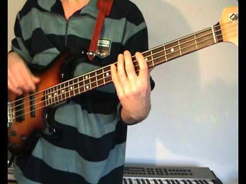 The Steve Miller Band - Abracadabra - Bass Cover