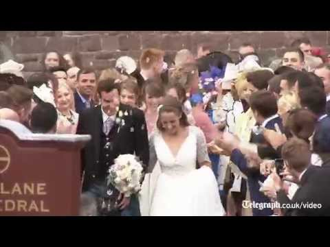 Andy Murray and Kim Sears' wedding highlights