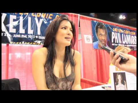 Kelly Hu Interview At Denver Comic Con video