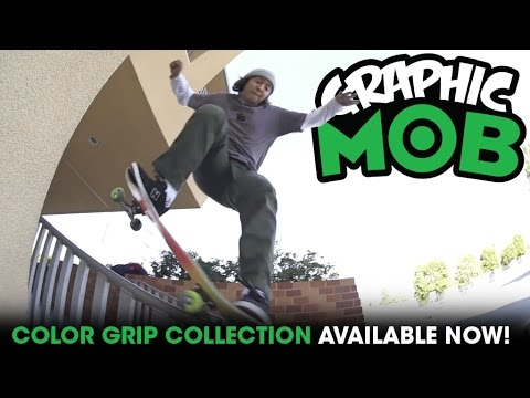 "Franky Villani: ""Colors"" x Graphic MOB Griptape"