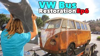 VW Bus Restoration - Episode 6! Road Trip! | MicBergsma