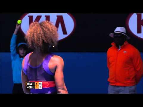 Serena Williams' Massive Serve - Australian Open 2013